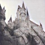 hogwarts royaltyfri illustrationer