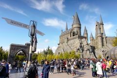 Hogwarts kasztel Obraz Royalty Free