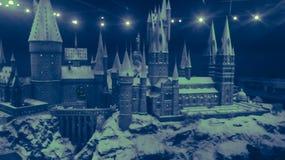 Hogwarts magi arkivfoton