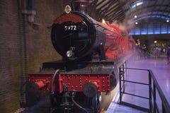 Hogwarts pociąg ekspresowy zdjęcie royalty free