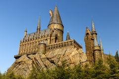The Hogwarts School of Harry Potter Royalty Free Stock Image