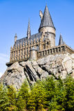 The Hogwarts School of Harry Potter. In Universal Studios, Osaka, Japan.One of the famous spot for the tourists who visit Osaka should go stock photos