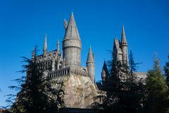 Universal Studios Hogwarts School of Witchcraft and Wizardry Harry Potter. Hogwarts School of Witchcraft and Wizardry is the British wizarding school, located in Stock Images