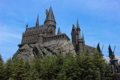 Hogwarts School of Witchcraft and Wizardry. Osaka, Japan Royalty Free Stock Image