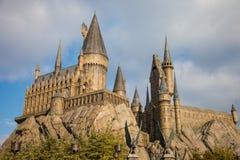 Hogwarts Castle. Hogwarts School of Wizardry replica castle Stock Image