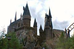 Hogwarts skola av häxeri och trolldom Royaltyfria Foton