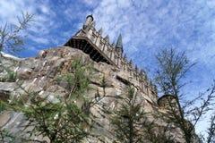 Hogwarts slott Arkivfoton