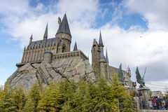 Hogwarts slott Arkivbild