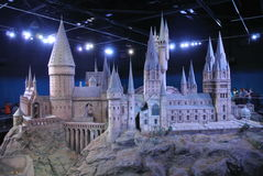Hogwarts slott Royaltyfri Fotografi
