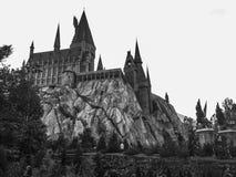 Hogwarts slott på universella Orlando Royaltyfri Bild