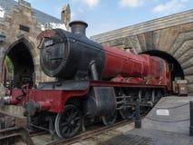Hogwarts som är uttrycklig på Harry Potter World Orlando Florida fotografering för bildbyråer