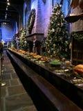 Hogwarts stół Zdjęcie Royalty Free