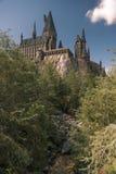 Hogwarts at Universal Islands of Adventure Orlando Stock Photo