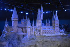 HOGWARTS Warner HARRY POTTER TOUR London Leavesden Royalty Free Stock Photography