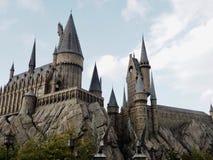 Hogwarts& x27; Slott universella studior Japan Arkivbilder
