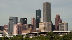 Hohe Überführung Houston Texas Transportaion Infrastructure stock video footage