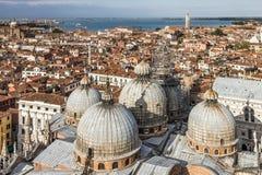 Hohe Ansicht von Venedig lizenzfreies stockfoto