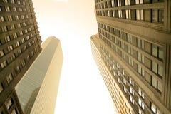 Hohe Anstieg-Gebäude stockfotos