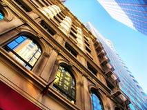 Hohe Anstieggebäude Lizenzfreie Stockfotos
