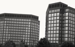 Hohe Anstieggebäude Stockbilder