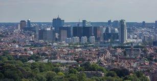 Hohe Aufstiege Brüssels lizenzfreies stockbild