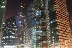 Hohe Bürogebäude Lizenzfreie Stockbilder