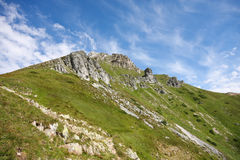 Hohe Berge stockfoto