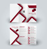 Hohe Designschablone des Broschürenspotts für Geschäft, Bildung, Anzeige Stockbilder