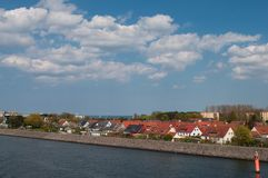 Hohe dune town in Rostock in germany Stock Photos