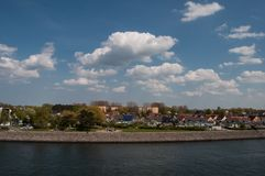 Hohe dune town in Rostock in germany Royalty Free Stock Photos