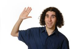 Hohe fünf! lizenzfreie stockfotografie