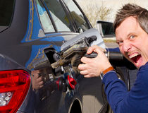 Hohe Gaskosten Lizenzfreies Stockfoto