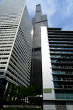 Hohe Gebäude in Chicago Stockfotografie