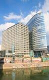 Hohe Gebäude wien Österreich Stockbilder