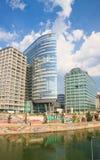 Hohe Gebäude wien Österreich Lizenzfreie Stockfotos