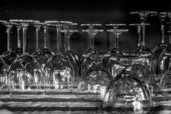 Hohe Gläser Stockfotografie