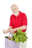 Hohe Kosten Nahrung Lizenzfreies Stockfoto