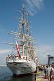 Hohe Lieferung läuft - Gdynia - Polen 04.07.2009 Lizenzfreie Stockbilder
