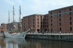 Hohe Lieferung und Docks Stockfotografie