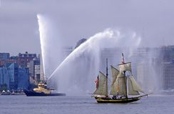 Hohe Lieferungs-Parade Halifax 2007 Lizenzfreies Stockfoto
