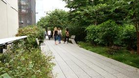 Hohe Linie Park, Manhattan, New York City stock video footage