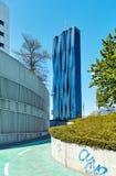 Hohe moderne kleine Wolkenkratzer in Wien nahe Wien Stockbilder