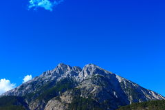 Hohe Munde. Muntain  in Tyrol Austria Royalty Free Stock Photography