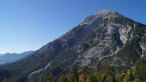 Hohe Munde in Tirol. The Mountain `Hohe Munde` in Tirol, Austria in summer Royalty Free Stock Photos