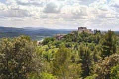 Hohe Provence, Frankreich Stockbild