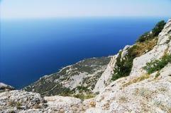 Hohe Seeküste Stockbilder