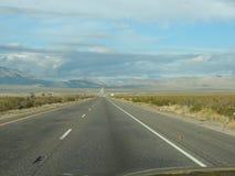 Hohe Sierra Datenbahn Stockfotografie