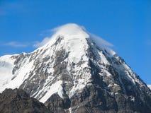 Hohe Spitze von Tien Shan Stockfoto