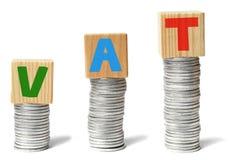 Hohe Steuern Stockfoto