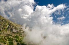 Hohe Tatra Berge, Slowakei stockfotos